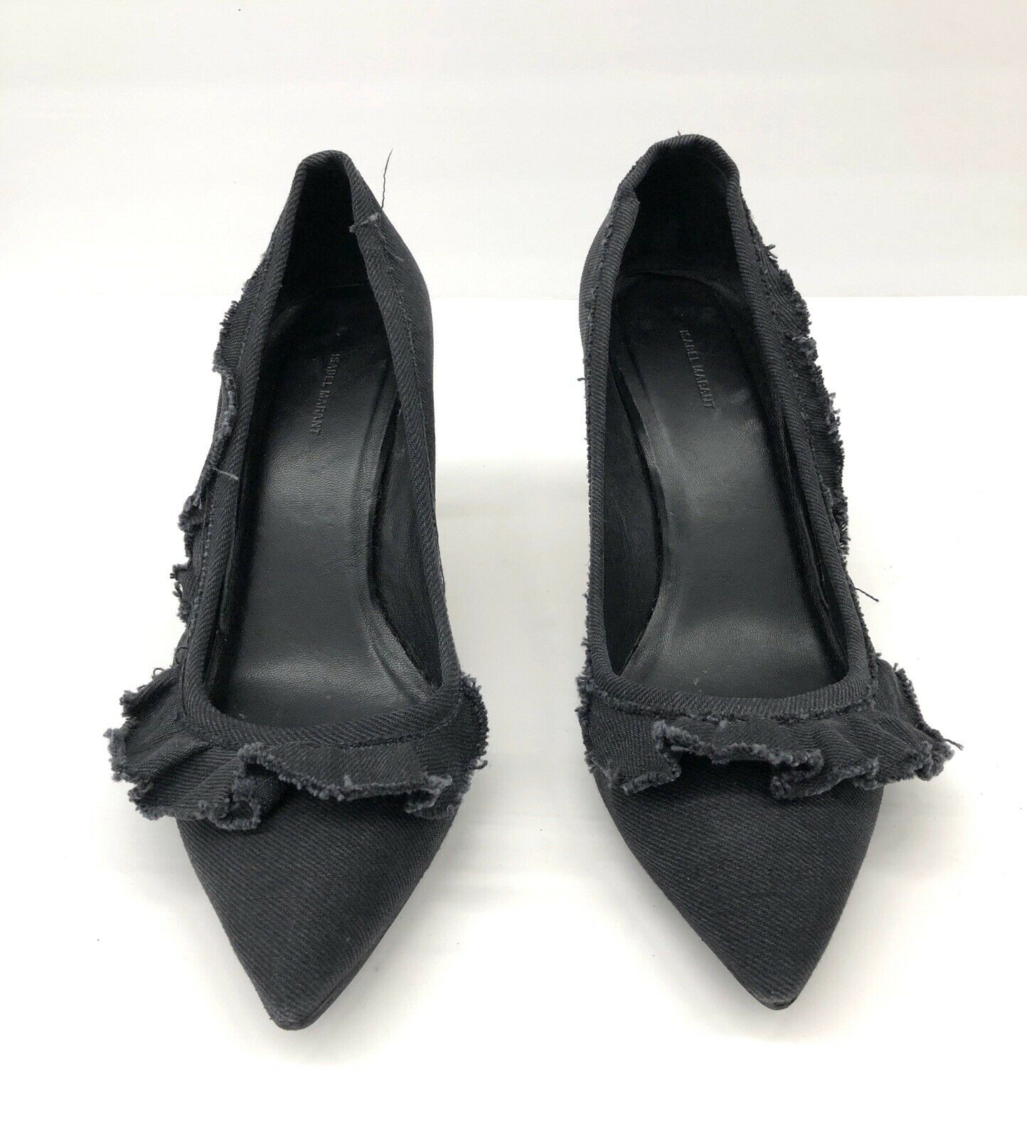 350 ISABEL MARANT Pointy Heels Pumps Dark grau Fabric Größe 39 eu   8 us