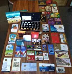 Bulk-Coins-Lot-Aussie-Coin-Hunt-Proof-Set-2020-Dragon-5-Police-ETC
