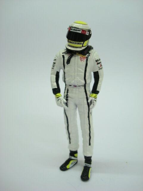 mejor calidad 1 18 Figura REF 57A 57A 57A JANSON BUTTON F1 BRAWN WORLD CHAMPINS FIGURINO PILOTA DRIVER  hasta un 70% de descuento