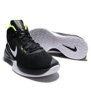brand new b04dd 1198a Das Bild wird geladen Nike-Zoom-Evidence -Basketballschuhe-852464-006-Schwarz-Schuhe-