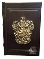 Wizarding World Of Harry Potter Deluxe Gryffindor Metal Crest Journal Diary Book