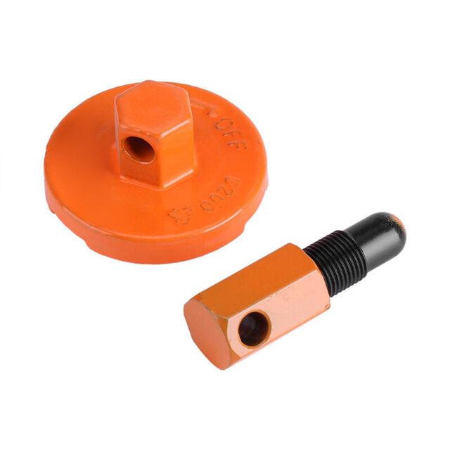 14mm Piston Stop Chainsaw Clutch Flywheel Removal Tool Set for Husqvarna Stihl