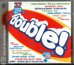 DOUBLE-CD-DOPPIO-37-BRANI-Video-Clip-Alex-Britti-CD-PERFETTO-M-M