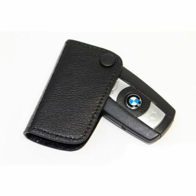 New Genuine BMW Key Holder Fob Leather Case Cover 51210414778