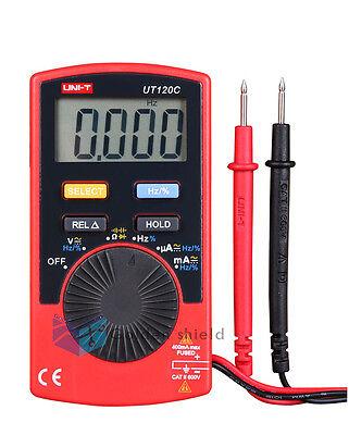 UNI-T UT120C Super Slim Pocket Meters Handheld Digital Multimeters Meter Tester