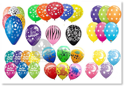 "12/"" Printed Latex Balloons Birthday Wedding Kids Party Smiley Love Anniversary"