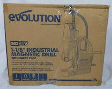 Evolution S28mag Heavy Duty 1 18 Inch Industrial Magnetic Drill With Carry Case