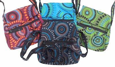 Fair Trade Baumwolle bedruckte Baumwolle Hippy boho Schulter Reisetasche