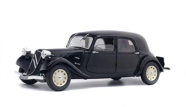 SOLIDO 421184480 - 1 18 Citroën traction iicv, noir, 1937-NEUF