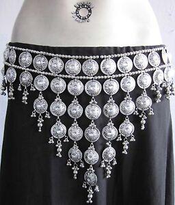 Consciencieux Handmade Franges Tribal Belly Dance Boho Gypsy Hippie Jupe Costume Jewelry-afficher Le Titre D'origine
