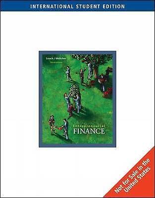Entrepreneurial Finance, International Edition, Chris Leach, Good, Paperback