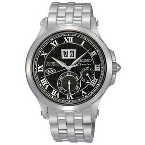 Seiko Premier Kinetic SNP041 SNP041P1 Mens Perpetual Calendar Watch RRP $1400.00