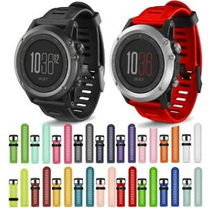 Soft-Silicone-Strap-Replacement-Watch-Band-With-Tools-For-Garmin-Fenix-3-HR