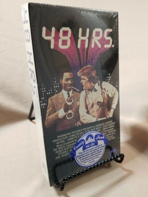 48 Hrs. (VHS) Eddie Murphy, Nick Nolte, New Factory Sealed