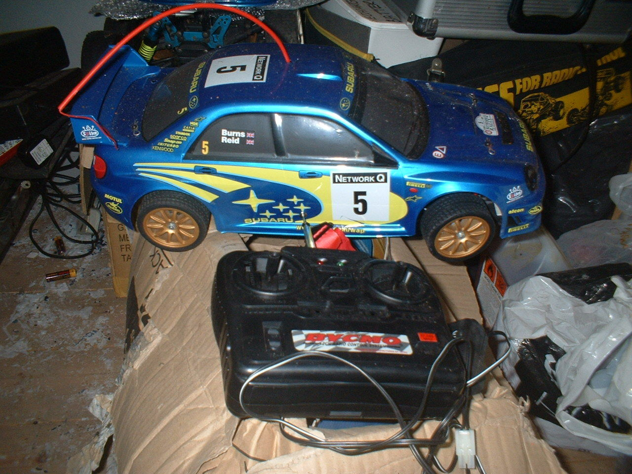 RADIO CONTROL 1 10 CAR ELECTRIC AS SEEN  IN PICTURES