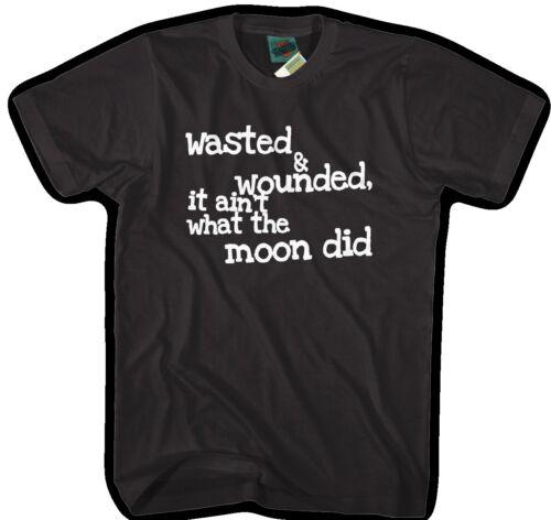 Tom Waits Tom Traubert/'s Blues lyrics inspired Men/'s T-Shirt