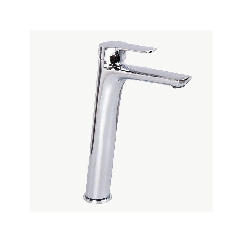 Miscelatore rubinetto lavabo Alto FIMA Frattini SERIE 4 completo di piletta