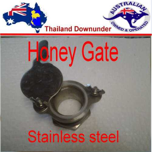 STAINLESS  COMMERCIAL QUALITY VALVE EASY FIT  BEE KEEPING HONEY GATE VALVE