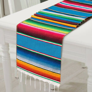 14-x-84-034-Mexican-Tablecloth-Serape-Mexican-Table-Runner-Party-Wedding-Decoration