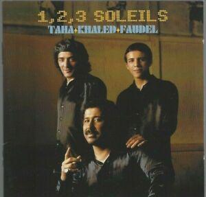 1-2-3-SOLEILS-FAUDEL-TAHA-KHALED-2-CD-Ref-0533