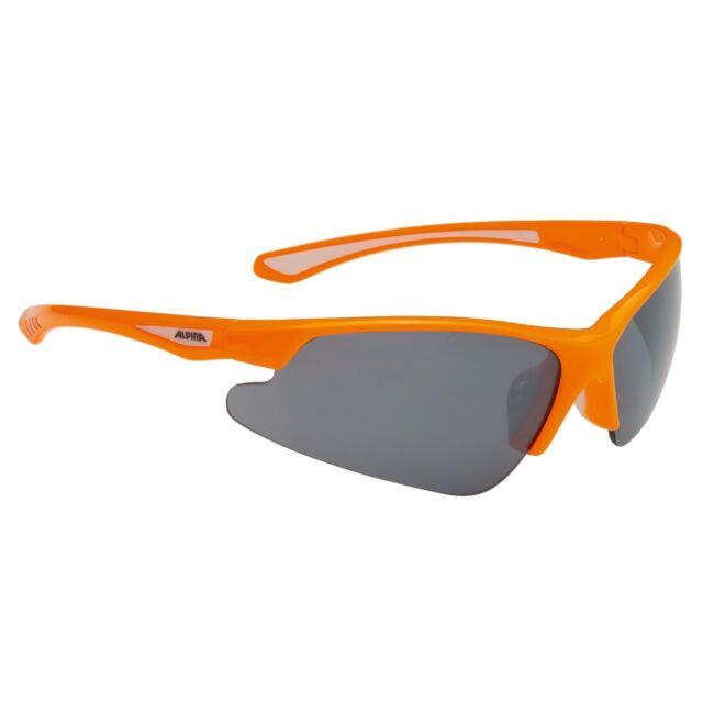 Alpina Damen Herren Sportbrille Radbrille Fahrradbrille Sonnenbrille Brille S3 Radsport