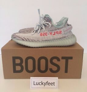 pretty nice 077de d4948 Image is loading Adidas-Yeezy-Boost-350-V2-Blue-Tint-UK-