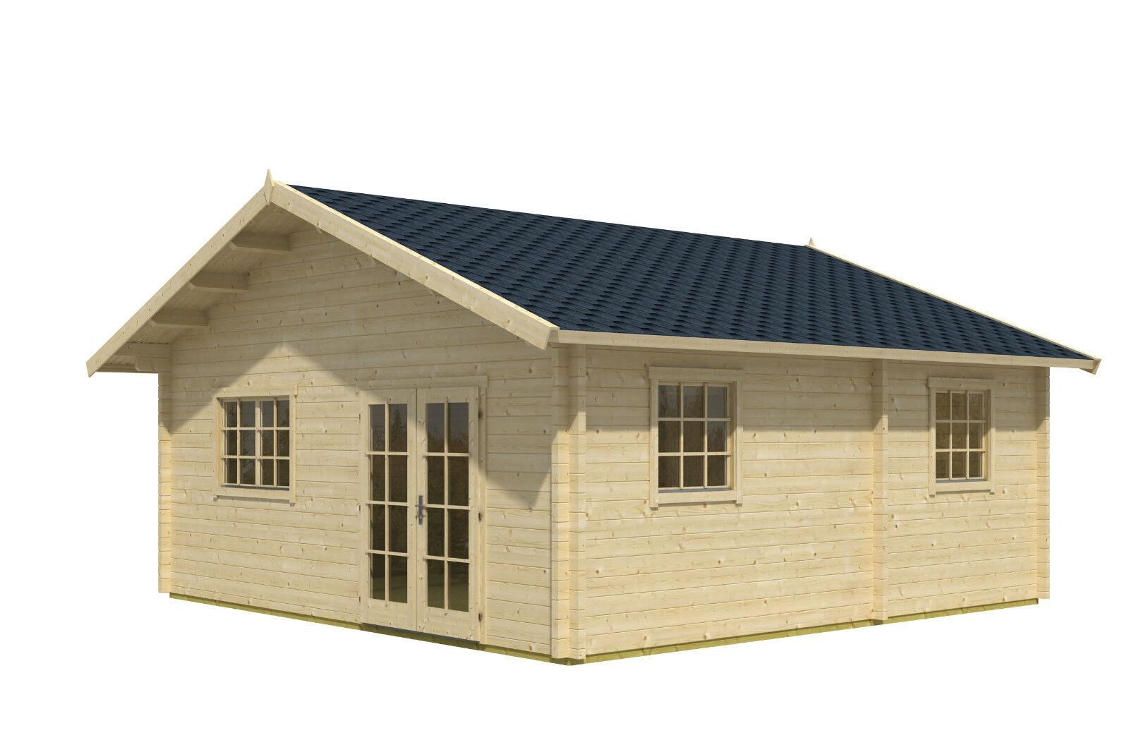 70 mm ferienhaus valga 620x620cm terrasse gartenhaus blockhaus holzhaus neu ebay. Black Bedroom Furniture Sets. Home Design Ideas