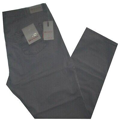 Pantalone Uomo Jeans Taglie Forti 62 64 66 68 Holiday Gabardin Strech Grigio Fro