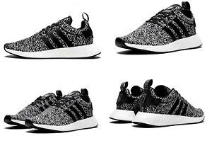 adidas NMD R2 Oreo Black White Mens Running Shoes B22631