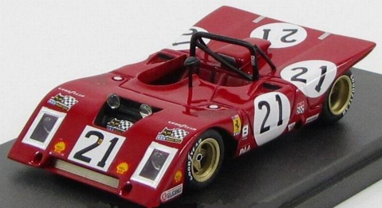 Kit Ferrari 312 P Nart Team Racing  21 Sebring 1971 - Modelling Plus kit 1/43