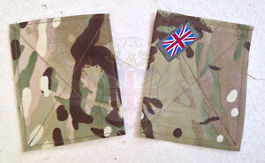 BRITISH-ARMY-SURPLUS-MTP-SLEEVE-PATCH-PANEL-BLANK-SMOCK-UBACS-FLASH-TRF-RANK