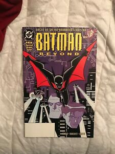 Batman Beyond 1 First Appearance Of Batman Beyond Ebay