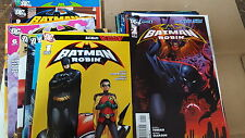 Batman robin Comic Lot 1999 1-26 new 52 0 1-12 vf+ bagged