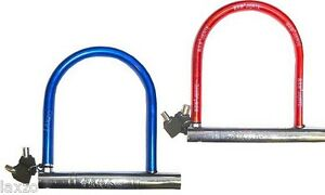 Bicycle-mountain-bike-cycle-safety-Heavy-duty-u-lock-D-lock-shackle-13MM-DIA