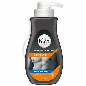 Veet Chest And Body Men Hair Removal Cream 400 Ml Ebay