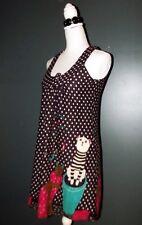 CHERRY ROBE DRESS TUNIQUE POP LAINE CHATS DE CIRQUE T1 OU 36/38
