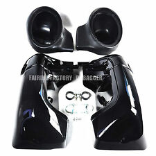 Non Vented Fairing Lower With 6 x 9 Speaker Pod 4 1988 -2013 Harley Touring FLH