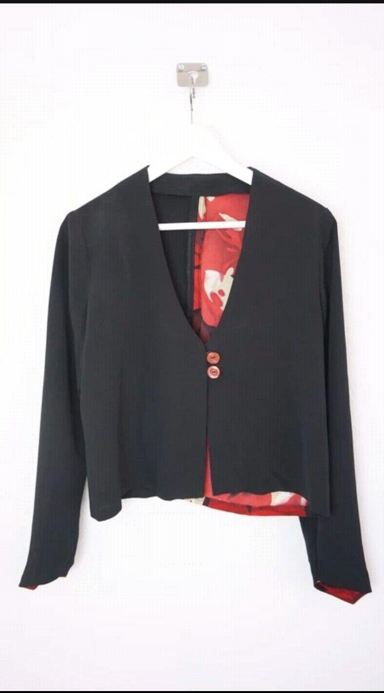 Maßgeschneiderter Rock mit Jacke Jugendweihe Outfit - Ungefähr Größe 38