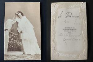 Disderi-Paris-Giulia-Barucci-courtisane-Vintage-albumen-print-CDV-Giulia