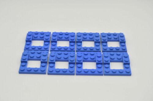 LEGO 8 x Basis Fahrgestelle Chassis 4x5 blau blue vehicle base 4211