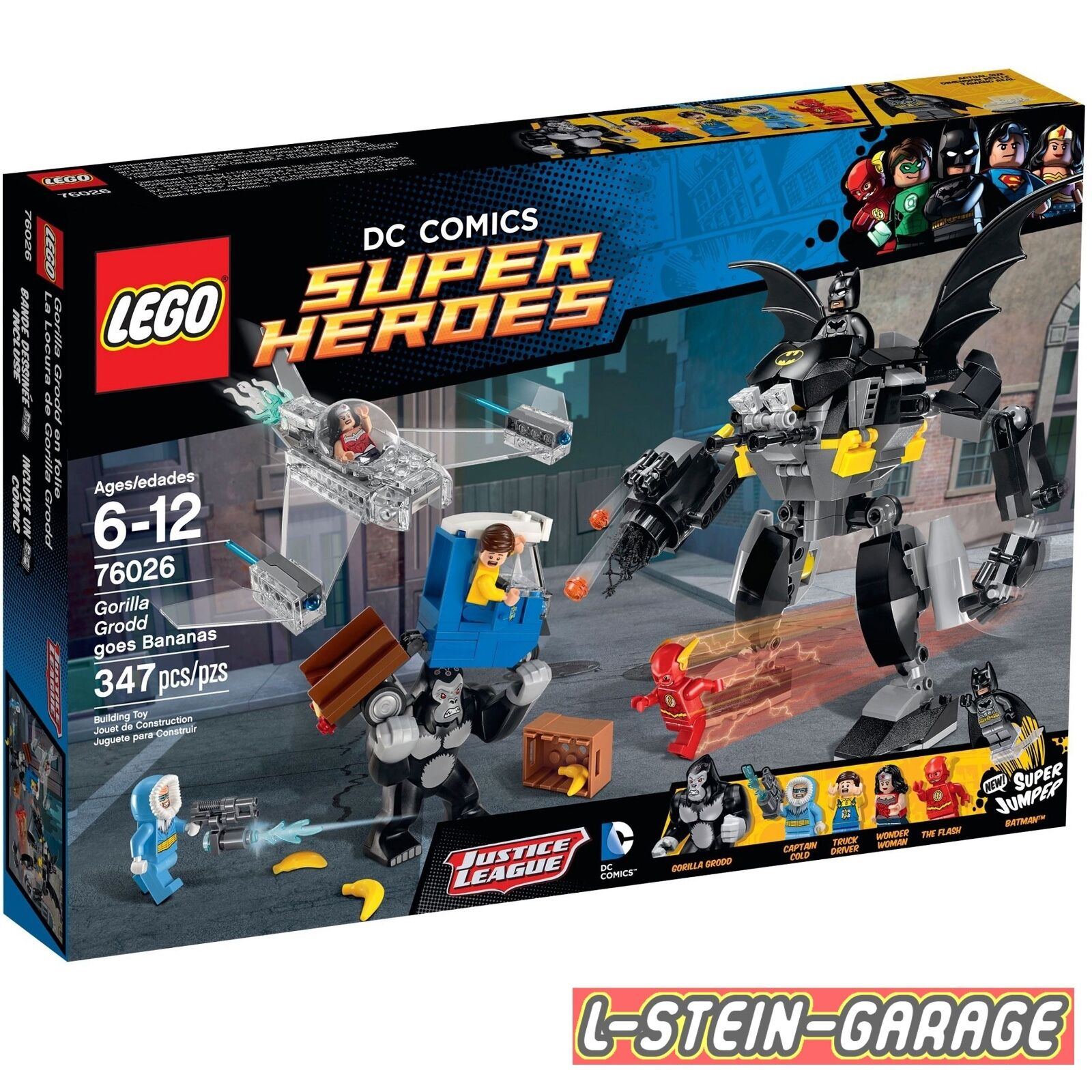 LEGO® Super Heroes 76026 Gorilla Grodds Wutanfall NEU & & & OVP 8d5846