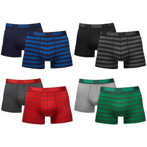 PUMA 2er Pack Striped 1515 Boxers Boxershorts Boxer Short