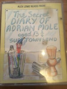 THE-SECRET-DIARY-OF-ADRIAN-MOLE-AGED-13-3-4-AUDIO-CASSETTE-TAPE-Sue-Townsend