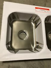 Commercial Stainless Steel Top Mount Kitchen Sink 18 Gauge Double Bowl 34 X 22