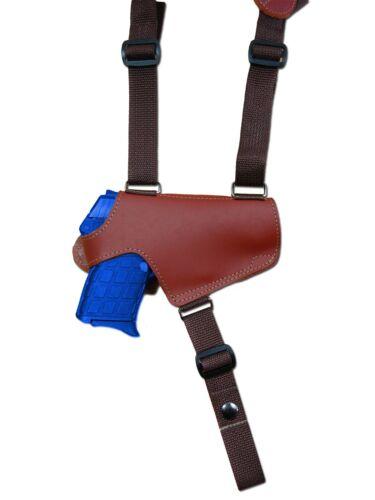 NEW Barsony Burgundy Leather Thumb Break Shoulder Holster Star Bersa Compact 380