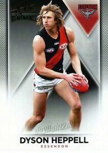 New-2019-ESSENDON-BOMBERS-AFL-Card-DYSON-HEPPELL-Dominance