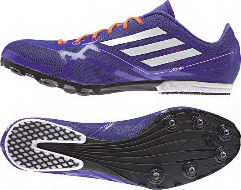 NEW ADIDAS Adizero MD 2 Track Running Spikes Cleats US 10.5