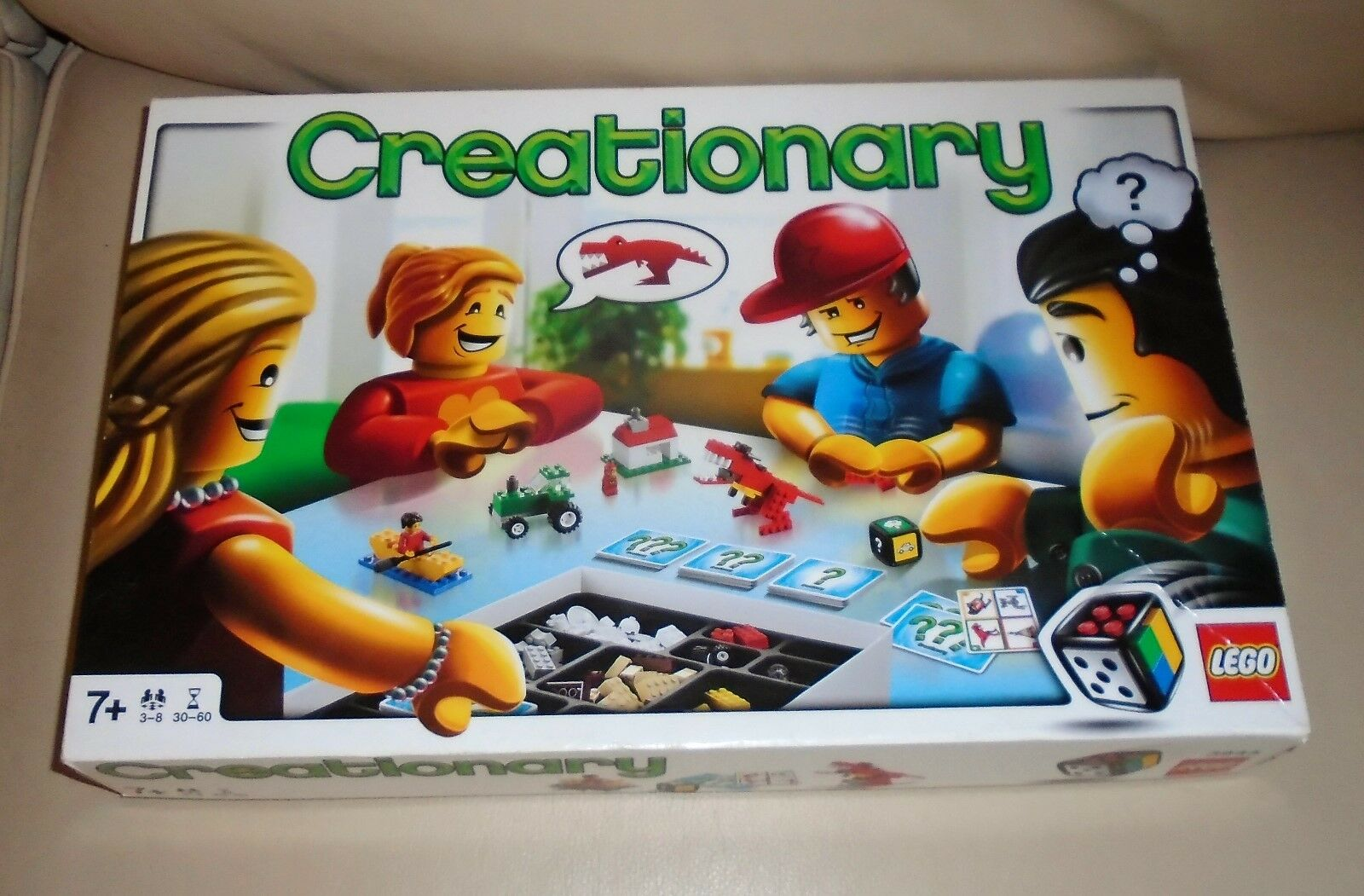 LEGO Games Creationary Board Game 3844 with Instructions. Boxed. Complete. b
