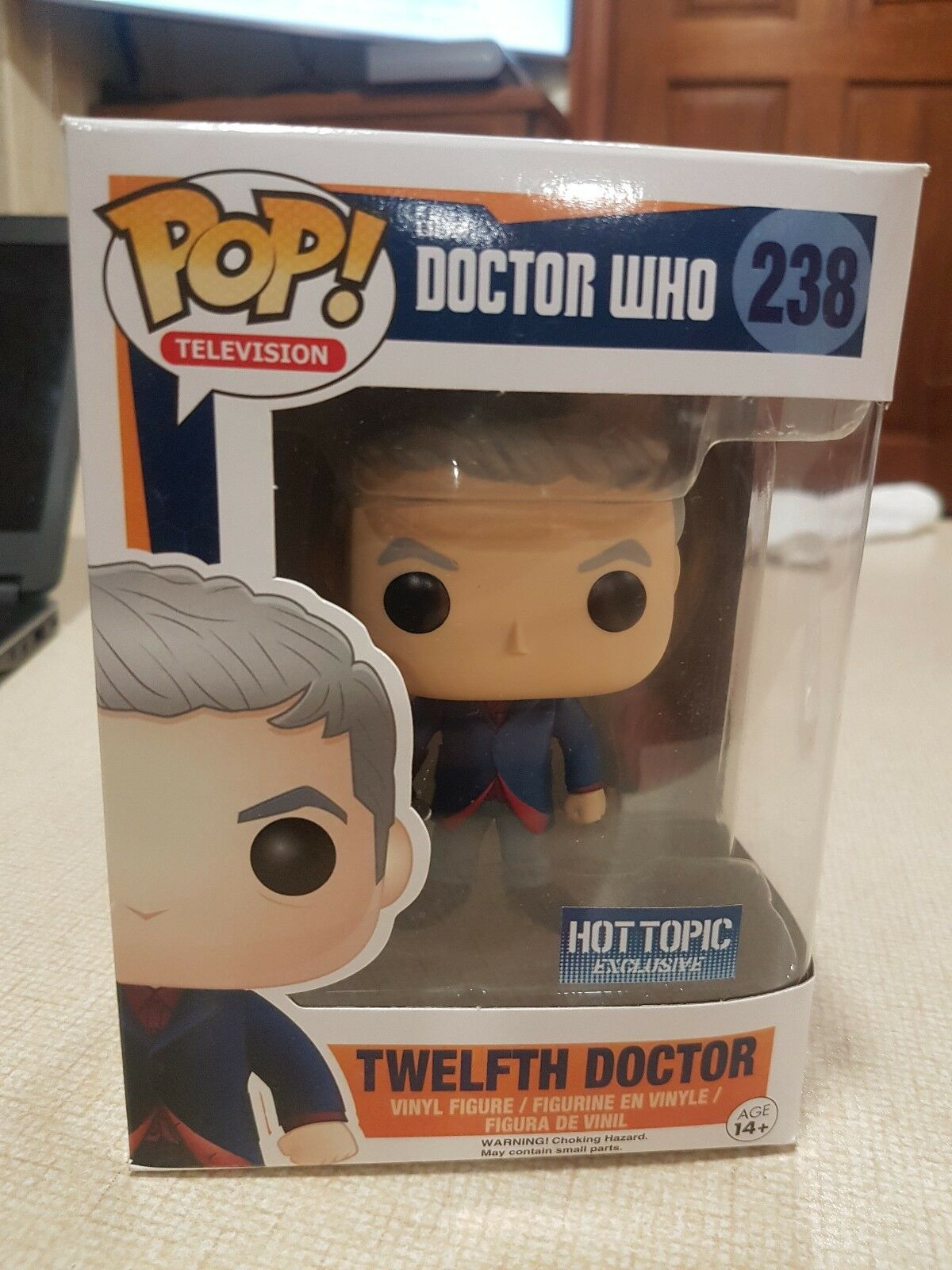 Doctor Who Funko POP Twelfth Doctor Hot Topic Exclusive