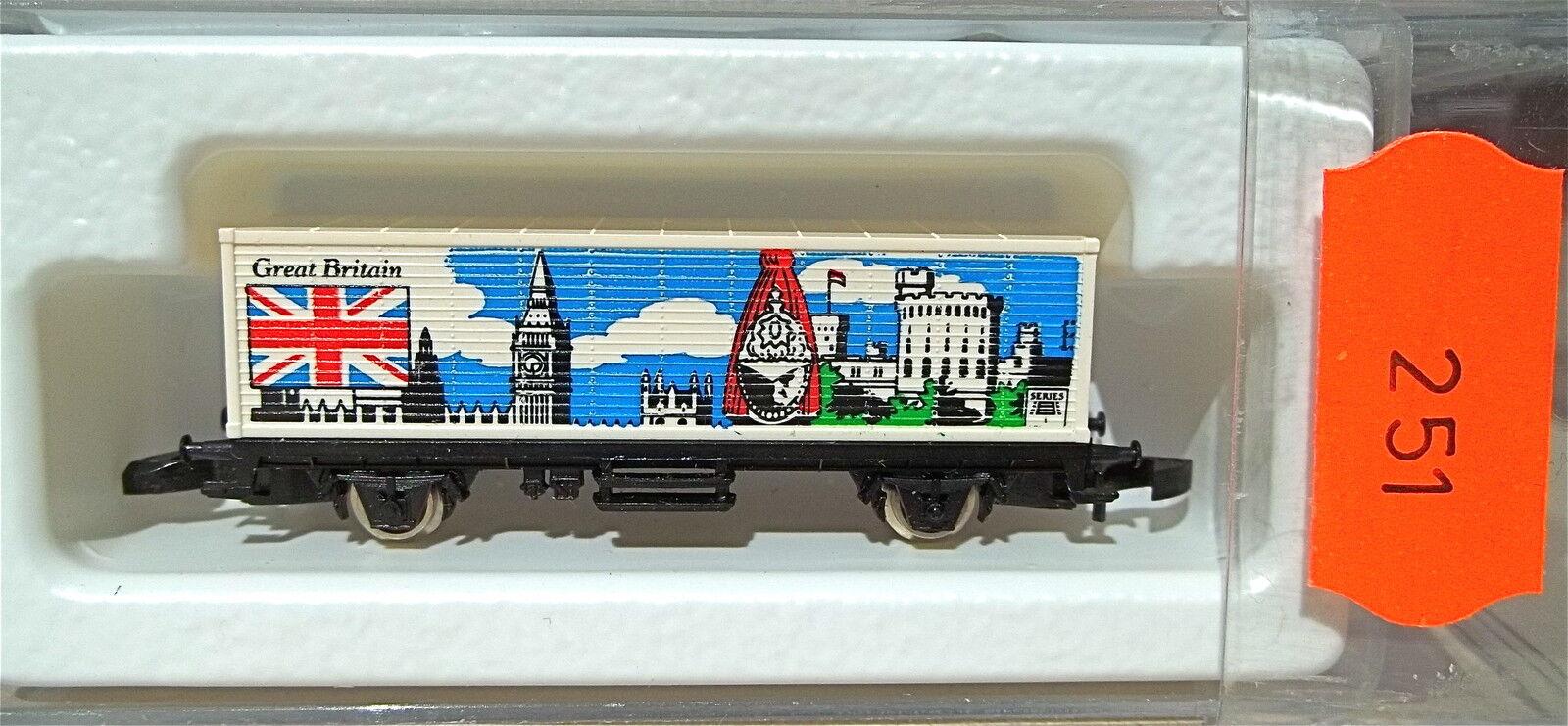 Great Britain, container Carrello partire 87704 Märklin Märklin Märklin 8615 Z 1 220  251  c969e1